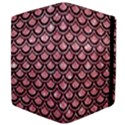 SCALES2 BLACK MARBLE & PINK GLITTER Apple iPad 2 Flip Case View4