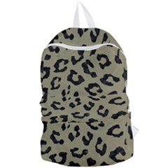 Skin5 Black Marble & Khaki Fabric (r) Foldable Lightweight Backpack by trendistuff