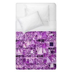 Modern Geo Fun,lilac Duvet Cover (single Size) by MoreColorsinLife
