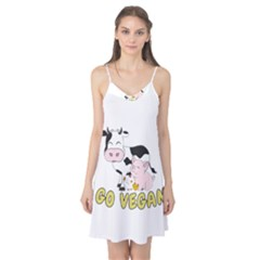 Friends Not Food   Cute Pig And Chicken Camis Nightgown