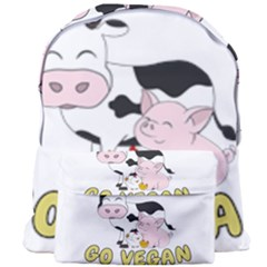 Friends Not Food   Cute Pig And Chicken Giant Full Print Backpack