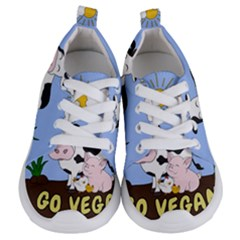 Friends Not Food   Cute Cow, Pig And Chicken Kids  Lightweight Sports Shoes