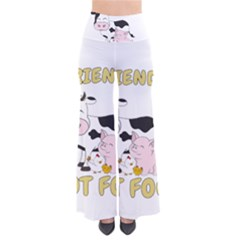 Friends Not Food   Cute Cow, Pig And Chicken Pants by Valentinaart