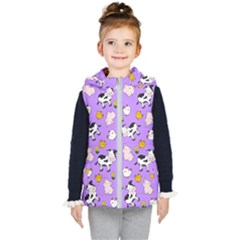 The Farm Pattern Kid s Puffer Vest