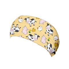 The Farm Pattern Yoga Headband