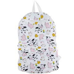 The Farm Pattern Foldable Lightweight Backpack by Valentinaart