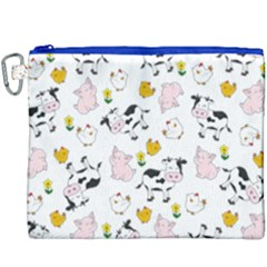 The Farm Pattern Canvas Cosmetic Bag (xxxl)
