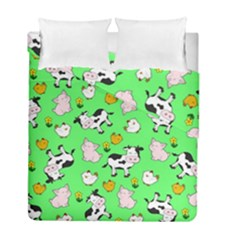 The Farm Pattern Duvet Cover Double Side (full/ Double Size)