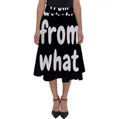 Save Me From What I Want Perfect Length Midi Skirt