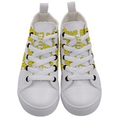 Save Me From What I Want Kid s Mid Top Canvas Sneakers