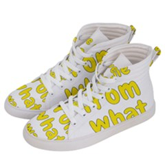 Save Me From What I Want Men s Hi Top Skate Sneakers by Valentinaart