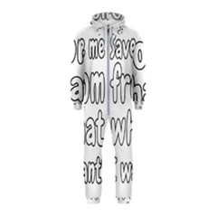 Save Me From What I Want Hooded Jumpsuit (kids)