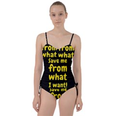 Save Me From What I Want Sweetheart Tankini Set