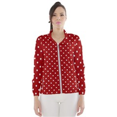 Red Polka Dots Wind Breaker (women)