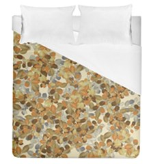 Leaves Autumm Duvet Cover (queen Size) by jumpercat