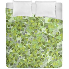Leaves Fresh Duvet Cover Double Side (california King Size) by jumpercat