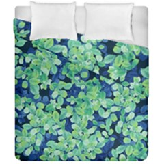 Moonlight On The Leaves Duvet Cover Double Side (california King Size) by jumpercat