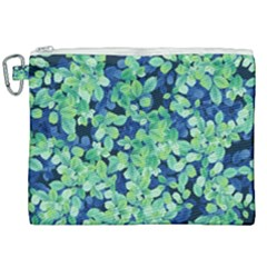 Moonlight On The Leaves Canvas Cosmetic Bag (xxl) by jumpercat