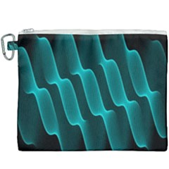 Background Light Glow Blue Green Canvas Cosmetic Bag (xxxl)