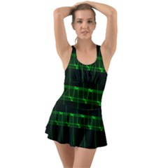 Background Signal Light Glow Green Swimsuit