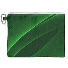 Background Light Glow Green Canvas Cosmetic Bag (xxl) by Nexatart
