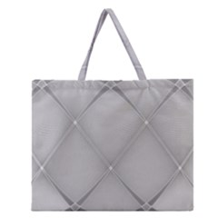 Background Light Glow White Grey Zipper Large Tote Bag by Nexatart