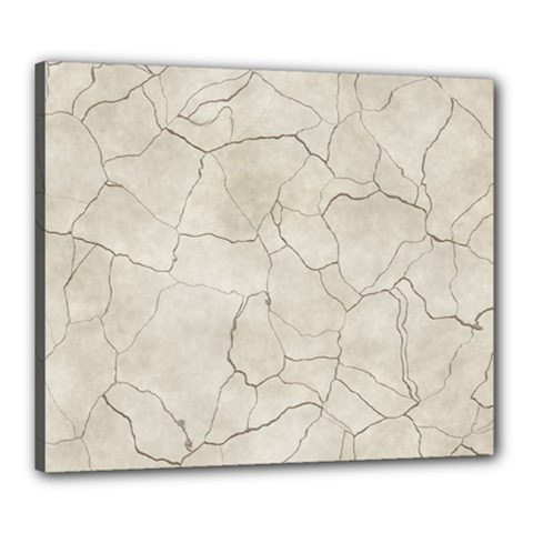 Background Wall Marble Cracks Canvas 24  X 20  by Nexatart