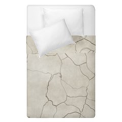 Background Wall Marble Cracks Duvet Cover Double Side (single Size) by Nexatart