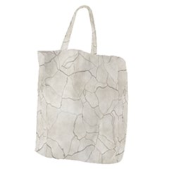 Background Wall Marble Cracks Giant Grocery Zipper Tote