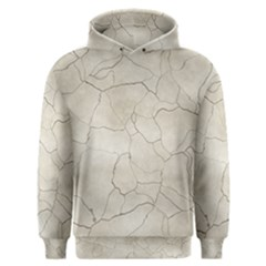 Background Wall Marble Cracks Men s Overhead Hoodie