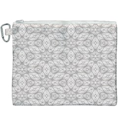 Background Wall Stone Carved White Canvas Cosmetic Bag (xxxl) by Nexatart