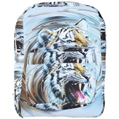 Tiger Animal Art Swirl Decorative Full Print Backpack