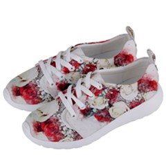Flowers Roses Bouquet Art Nature Women s Lightweight Sports Shoes by Nexatart