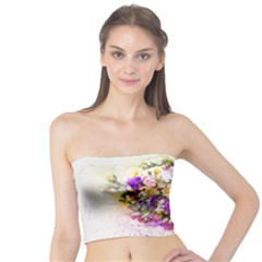 Flowers Bouquet Art Nature Tube Top by Nexatart