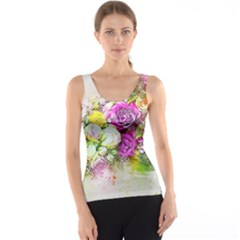 Flowers Bouquet Art Nature Tank Top