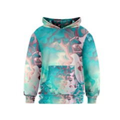 Background Art Abstract Watercolor Kids  Pullover Hoodie