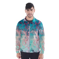 Background Art Abstract Watercolor Wind Breaker (men) by Nexatart