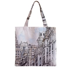 Architecture Building Design Grocery Tote Bag