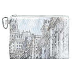 Architecture Building Design Canvas Cosmetic Bag (xl) by Nexatart