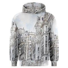 Architecture Building Design Men s Overhead Hoodie