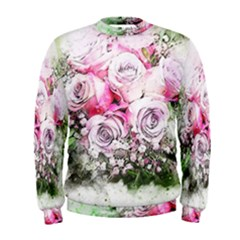 Flowers Bouquet Art Nature Men s Sweatshirt by Nexatart