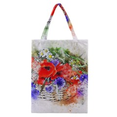 Flowers Bouquet Art Nature Classic Tote Bag by Nexatart