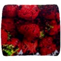 Strawberry Fruit Food Art Abstract Back Support Cushion View1