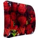 Strawberry Fruit Food Art Abstract Back Support Cushion View2