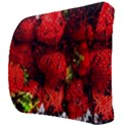 Strawberry Fruit Food Art Abstract Back Support Cushion View3