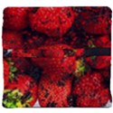 Strawberry Fruit Food Art Abstract Back Support Cushion View4