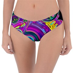 Background Art Abstract Watercolor Reversible Classic Bikini Bottoms by Nexatart
