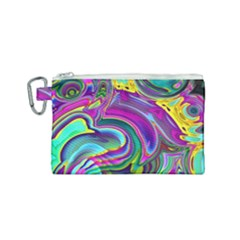 Background Art Abstract Watercolor Canvas Cosmetic Bag (small) by Nexatart