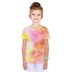 Background Art Abstract Watercolor Kids  One Piece Tee