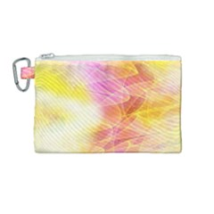Background Art Abstract Watercolor Canvas Cosmetic Bag (medium) by Nexatart